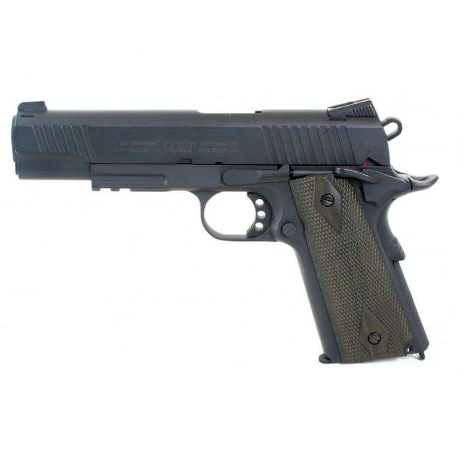 Cyber gun Colt 1911 Railed Gun Series CO2 Pistol - Black