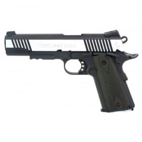 Colt 1911 Railed Gun Series CO2 Pistol - Dual Tone