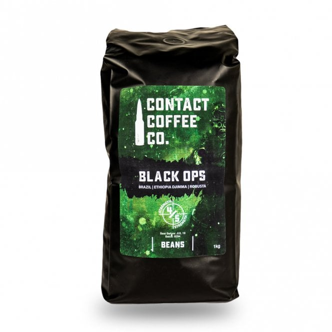 Contact Coffee Co. Black Ops Coffee Beans 1KG
