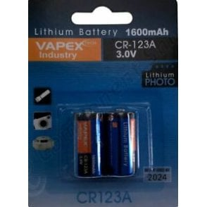 CR123A Battery - Twin Pack