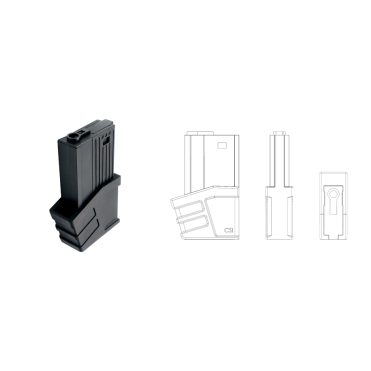 CSI XR5 Advanced Main Battle Rifle Magazine
