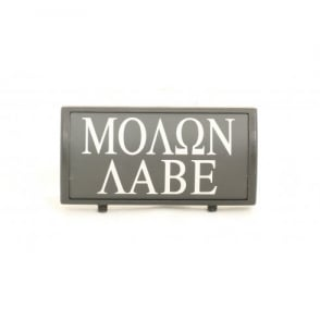 Custom Rail Panel Molon Labe - Black