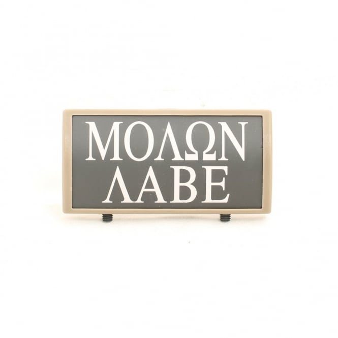 LWA Custom Rail Panel Molon Labe - Dark Earth