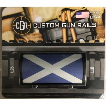 Custom Rail Panel-Scotish Saltire