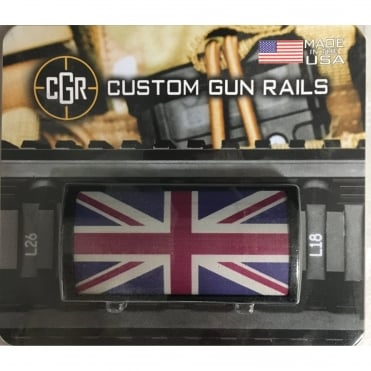Custom Rail Panel-Union Jack