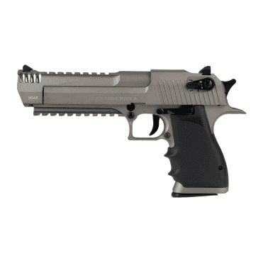 Cyber Gun Desert Eagle L6 Licensed CO2 Full auto Blowback Stainless Slide GBB Pistol
