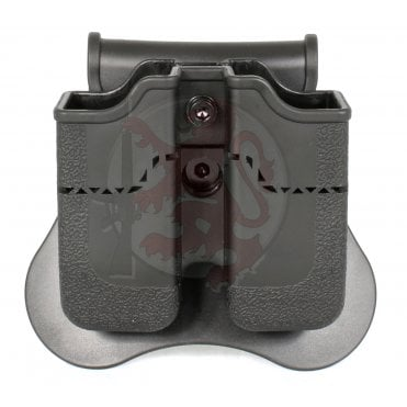 Double Pistol Magazine Holster for Beretta PX4, H&K P30, USP & USP Compact