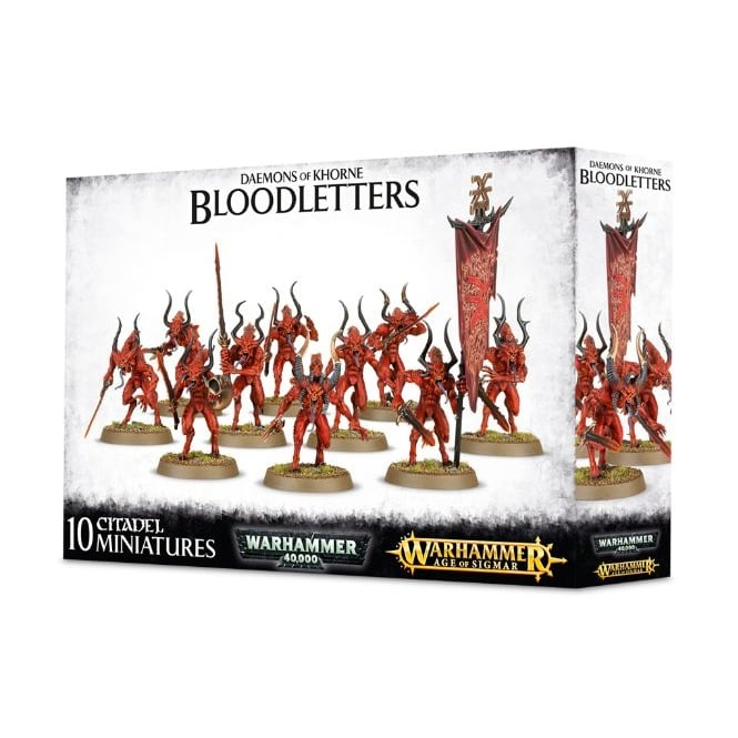 Games Workshop Daemons of Khorn Bloodletters