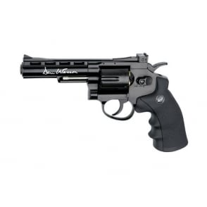 "Dan Wesson 4"" CO2 Revolver Black"