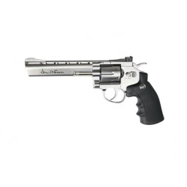 "Dan Wesson 6"" CO2 Revolver Silver"