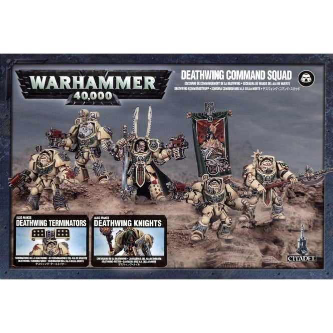 Games Workshop Deathwing Command squad Warhammer 40,000