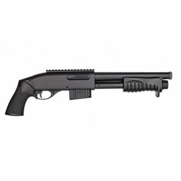 Double Eagle M401 Breacher Pump Acton Shotgun - Black
