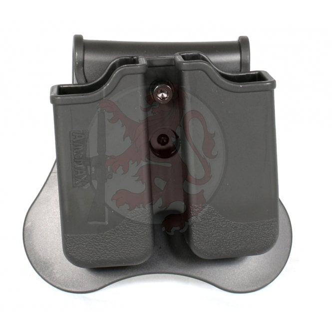 Cytac/Amomax Double Pistol Magazine Holster for Tokyo Marui/WE/KJW/KSC/KWA Sig 226, Beretta M9/M92, CZ P-09