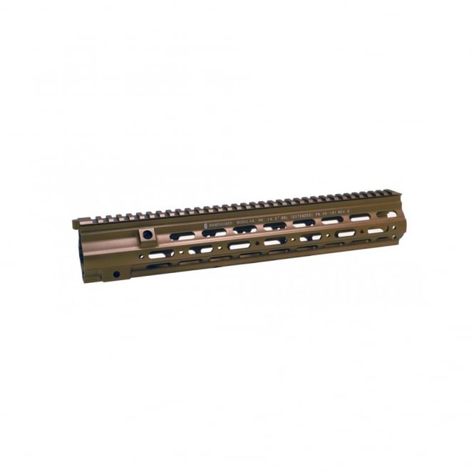 "DYTAC G Style SMR 14.5"" Rail For WE 416 style AEG/ GBB (Dark Earth)"