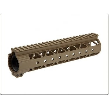 "Dytac Invader Lite Rail System 9"" - Dark Earth"