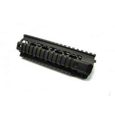 "Dytac Invader Rail System 7.2"" - Black"