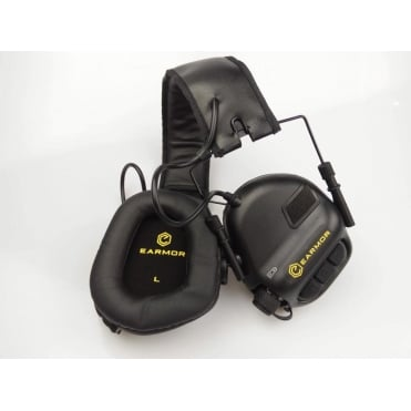 Earmor Hearing Protection Ear-Muff - Black