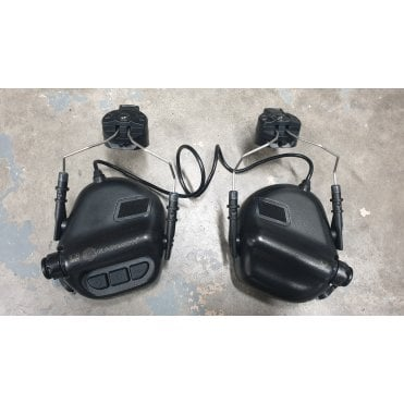 Earmor M31H electronic Hearing Protection - Black - R1