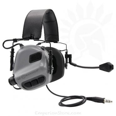 Earmor M32 MOD3 Electronic Communication Hearing Protector - Grey