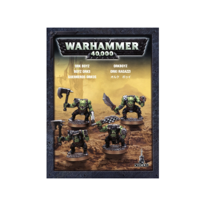 Games Workshop Easy to Buld Ork Boyz