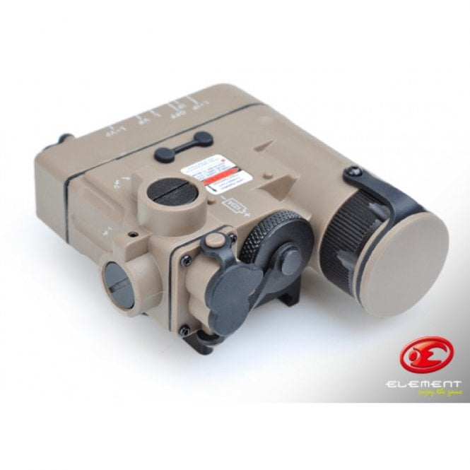 Element DBAL-eMkII IR/Red Laser/Torch Unit - Dark Earth