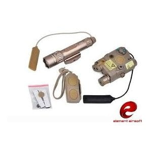 Element Laser/Torch/Switch Combination Kit - Dark Earth