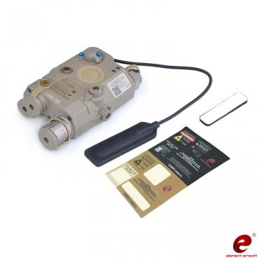 Element WADSN PEQ-15 LA-5C UHP Red Laser/Torch PEQ Unit - Dark Earth