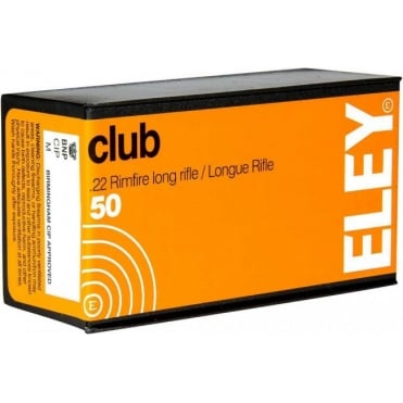 Eley Club .22lr - Box of 50