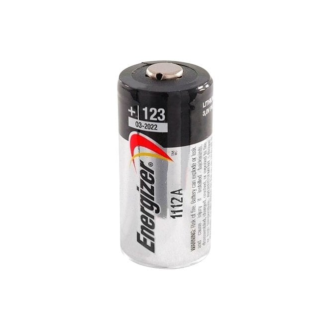 LWA Energizer CR123A Battery