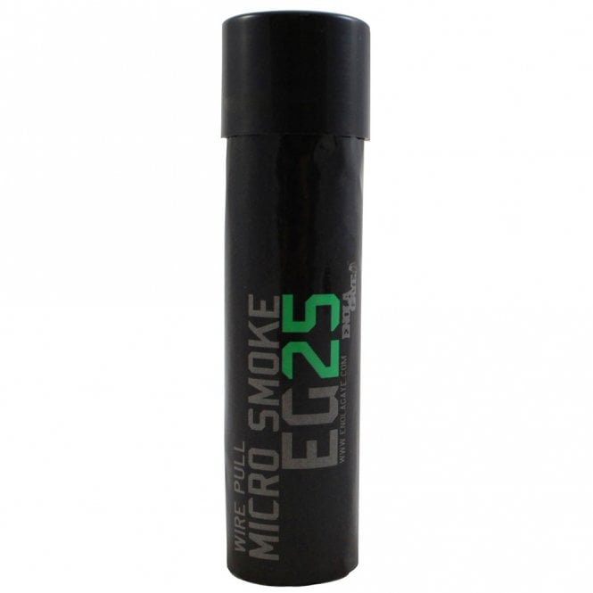 Enola Gaye EG25 Micro Wire Pull Smoke Grenade - Green - Box of 10