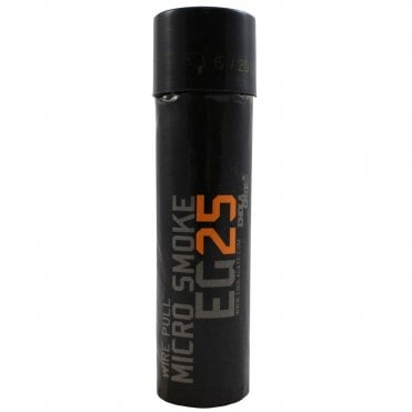Enola Gaye EG25 Micro Wire Pull Smoke Grenade - Orange - Box of 10