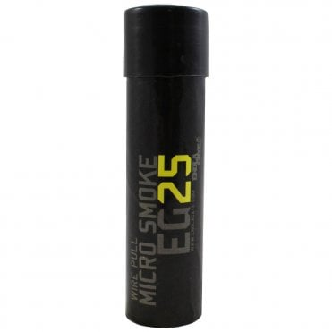 Enola Gaye EG25 Micro Wire Pull Smoke Grenade - Yellow - Box of 10