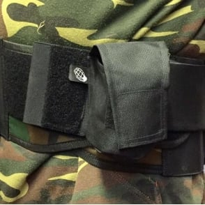 Enola Gaye Field Paint/BB Grenade Pouch Black
