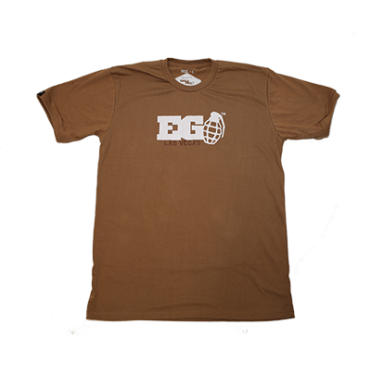 Enola Gaye Las Vegas T-Shirt Coyote Brown