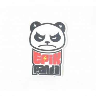 Epik Panda Logo Patch