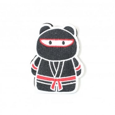 Epik Panda Ninja Patch - Black / Red