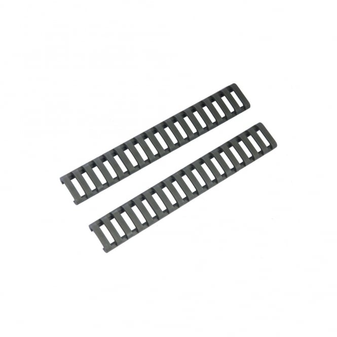 PTS Syndicate Airsoft Ergo 18-slot Lowpro Rail cover - Foliage Green