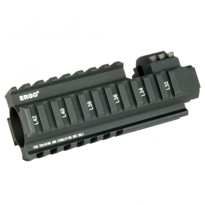 PTS Syndicate Airsoft Ergo M4 4 Rail hand Guard (MOE Version)