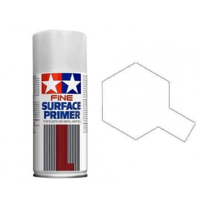 Tamiya Fine Surface Primer L White