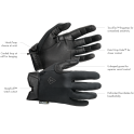 First Tactical Men's Lightweight Patrol Glove-Black