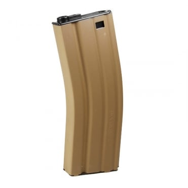 G&G Airsoft 450 Round High Capacity Magazine for M4/M16/GR16 Rifles - Tan