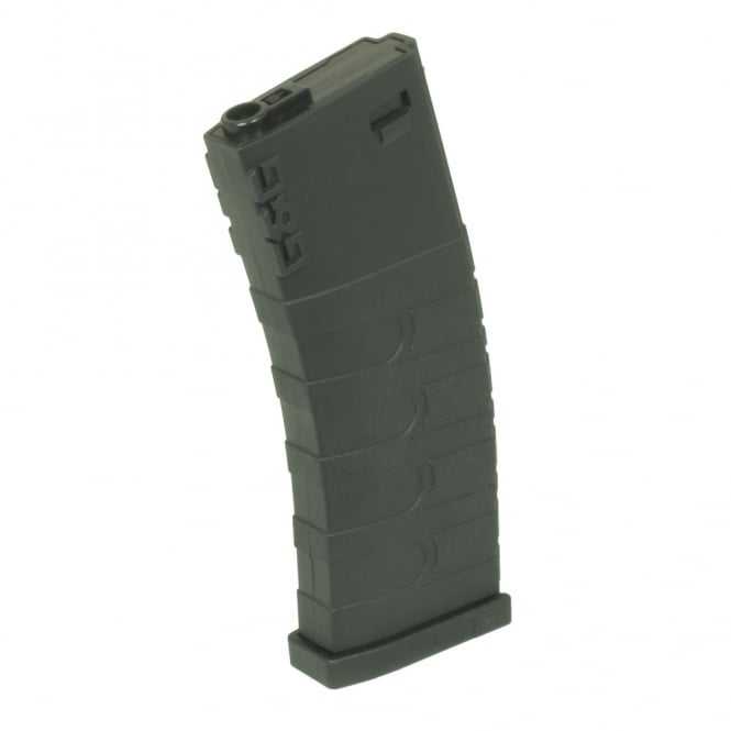 G&G Airsoft G&G 120 Round Mid Cap Magazine for GR16 / M4 Black