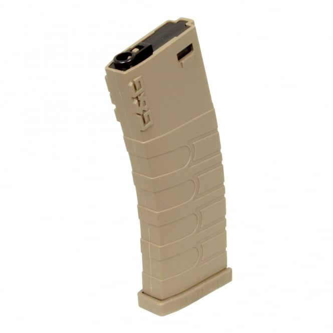 G&G Airsoft G&G 120 Round Mid Cap Magazine for GR16 / M4 Tan