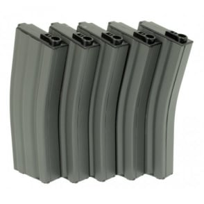 G&G 79 Round Magazine Box of 5 (Grey) for GR16 / M4