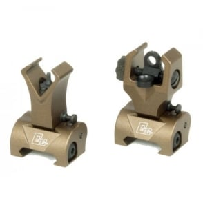G&G Flip Up Sights Tan