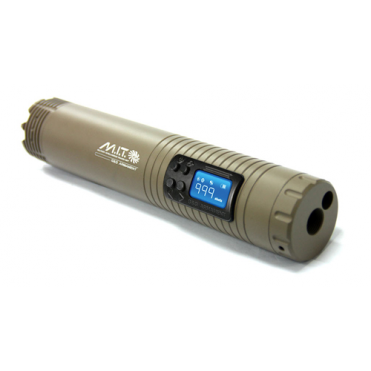 G&G Airsoft Military Intelligence Tracer Unit (M.I.T) With PEQ Battery Box - Tan