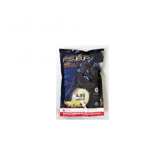 G&G Airsoft Perfect BB 0.25g White (3000)