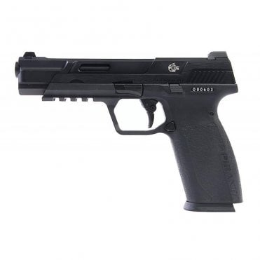 G&G Airsoft Piranha Mk1 Gas Blowback Pistol - Black