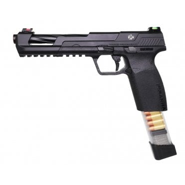 G&G Airsoft Piranha SL Gas Blowback Pistol - Black
