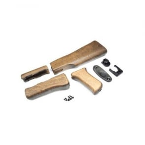 AK 47 Wood Stock Set For G&G AK Series